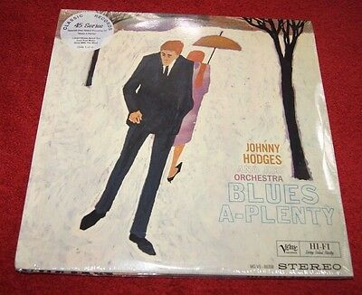 JOHNNY HODGES & HIS ORCHESTRA BLUES A-PLENTY VERVE CLASSIC REC 4x45rpm LP's NEW!