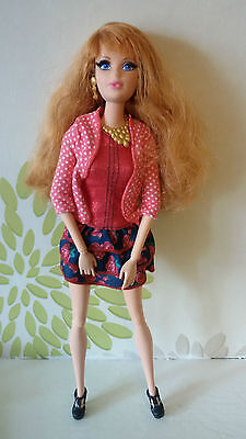 **Barbie Life In A Dreamhouse Midge Doll Real Look Eyelashes,Freckles**Rare**
