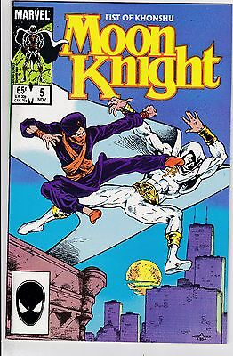 Moon Knight #5 NM 9.4 Marvel 1985 See My Store
