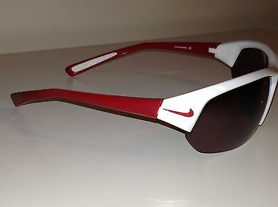 Nike Sunglasses, SKYLON ACE, Red, White And Grey, Unisex, BRAND NEW IN CASE