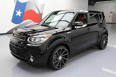 "2016 Kia Soul  2016 KIA SOUL ! 2.0L LEATHER REAR CAM 20"" WHEELS 14K MI #294091 Texas Direct"
