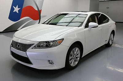 2014 Lexus ES Base Sedan 4-Door 2014 LEXUS ES300H HYBRID LUXURY SUNROOF NAV REARCAM 46K #067980 Texas Direct