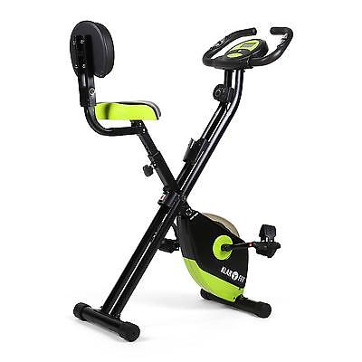 Velo D Appartement Cardio Ordinateur De Bord Home Trainer Fitness Vert/noir