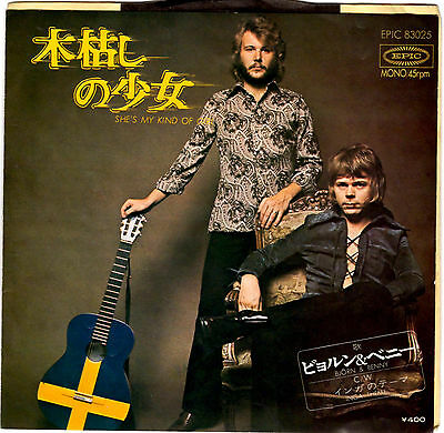 (Abba) Bjorn & Benny - She's My Kind Of Girl - Very Rare! Japan 45'ps
