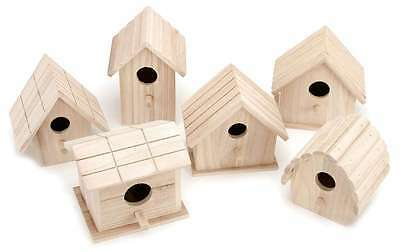 Assorted Wood Birdhouse   652695161155