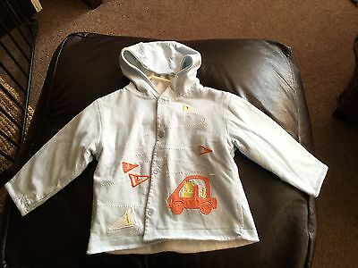 Marese Reversible Baby Boys Summer Jacket. Age 12 Months. Excellent Condition.