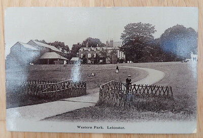 Leicester Postcard # Western Park #   Leicestershire
