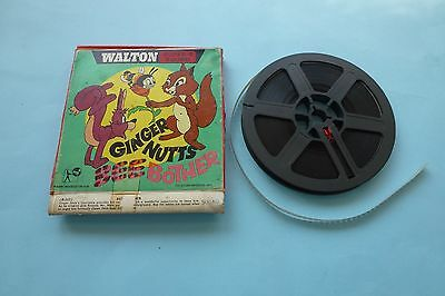 Ginger Nuts Bee Bother Super 8mm B&W Sound Film 200ft  Spool In Original Box