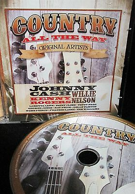 COUNTRY MUSIC 1 ,ORIGINAL ARTIST NEW CD, Johnny Cash, Dolly Parton, Loretta Lynn