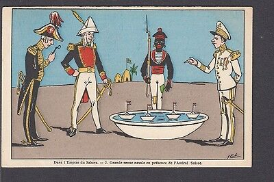 """Political Satire in the """"Empire of the Sahara""""- Naval Review & Swiss Admiral"""
