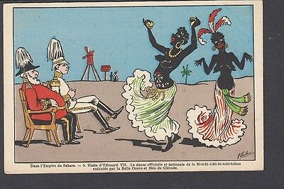 """Political Satire in the """"Empire of the Sahara""""- Emperor with Edward VII"""