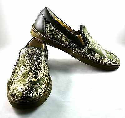 e019ccaf624 JIMMY CHOO MEN S grove green gold shoes size 43 -  212.49