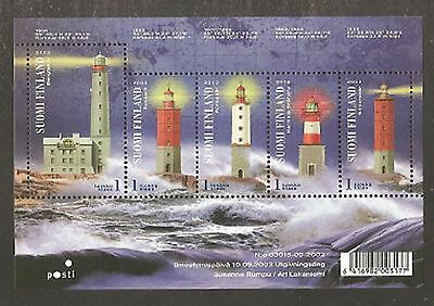 2003 Finland Lighthouses SG MS1715 MNH/** (Cat £14)