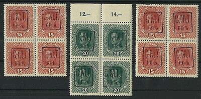 Lot With 12 Stamps - Cmt - C.m.t. Ukraine 1919 Romania - Poland - Mnh
