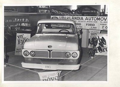 1958 1959 1960 ? Ford Brazil F100 Pickup Truck ORIGINAL Factory Photo wy0644