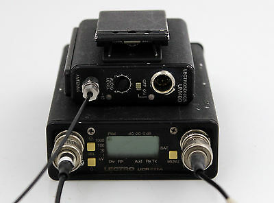 Lectrosonics UCR411A receiver with UM400 Transmitter Block 29