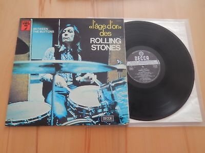 THE ROLLING STONES      BETWEEN THE BUTTONS    l'age d'or  Vol.7
