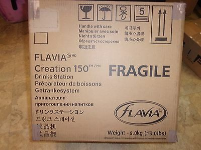 Flavia New in Box Creation 150 Drink Station Coffee Maker