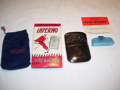 Vintage Inferno No. 5081 Japan Hand Warmer with Box