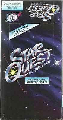 Star Quest The Regency Wars Premier Edition CCG's Sealed Box 36 Packs of 15 Card