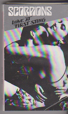 Scorpions 'Love At First Sting' Cassette Album (1984) USA Import
