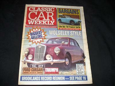 Classic Car Weekly 104 May 1992 Wolseley Ford Corsair Triumph Tr8 Lotus Elite