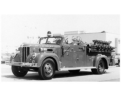 1949 ? Maxim Fire Truck Photo Bellmore NY ca7177