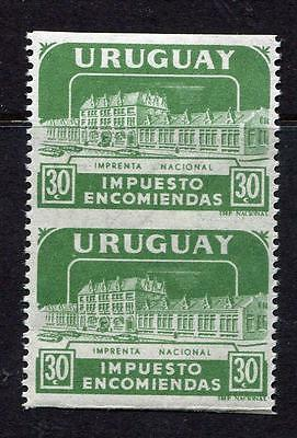 Uruguay 1960 SC Q91 Imperf  between MNH u2974b