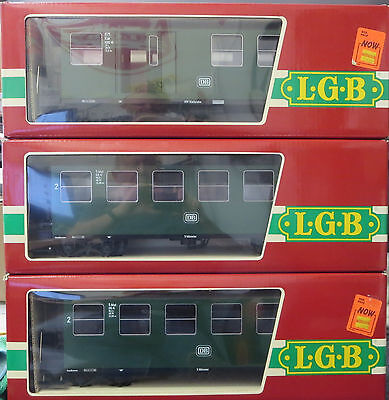 LGB Lehmann 3070 3070 3071 DB 3 Car Passenger Set G Scale