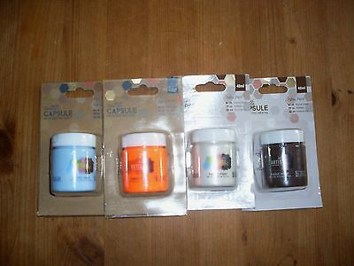 Docraft Fabric Paint 40Ml Papermania Capsule X 4