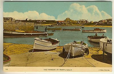 A Post Card of The Harbour, St. Mary's. Scilly.