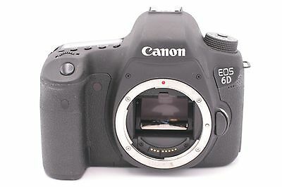 Canon EOS 6D 20.2 MP Digital SLR Camera Body Only - Shutter Count: 118