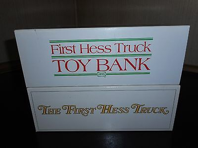 Lot Of 2 Hess Trucks 1982 & 1983/85 Unopened W/ Minor Box Damage