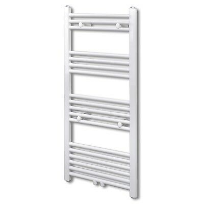 #Bathroom Heating Towel Rail Radiator Towel Rack Holder Straight 500x1160 mm
