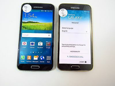 Lot of 2 Samsung Galaxy S5 (G900R4) (US Cellular) (Check ESN)_C12