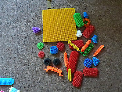 Collection Of Stickle Bricks And Playboard