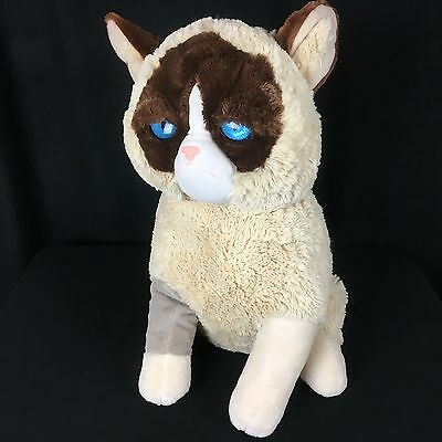 "Grumpy Cat Plush 24"" Large Jumbo Gund Stuffed Animal XL Soft Fuzzy"