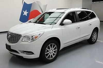2017 Buick Enclave Leather Sport Utility 4-Door 2017 BUICK ENCLAVE LEATHER HTD SEATS 7PASS REAR CAM 18K #137227 Texas Direct