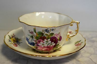 Antique Fine Bone China Porcelain HAMMERSLEY TEA CUP AND SAUCER