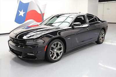2015 Dodge Charger  2015 DODGE CHARGER R/T PLUS HEMI LEATHER NAV 20'S 25K #826559 Texas Direct Auto