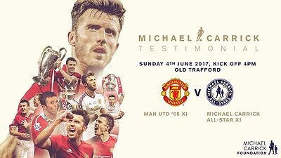 Michael Carrick Testimonial Manchester United 08 V Michael Carrick XI 4th June