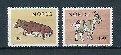 Norway 779-80 MNH, Domestic Animals, 1981