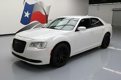 2015 Chrysler 300 Series  2015 CHRYSLER 300 LIMITED HTD LEATHER REAR CAM 20'S 24K #930433 Texas Direct