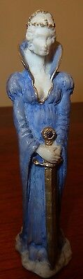 Collectable Soli Deo  ( Orkney) Maiden with Scalibur figurine