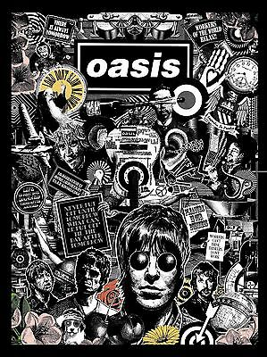 "OASIS VIDEO COVER 16"" x 12"" Photo Repro Promo  Poster"
