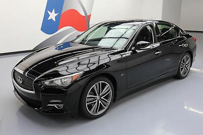 2014 Infiniti Q50  2014 INFINITI Q50 AWD SUNROOF NAV REARVIEW CAM 31K MI #699294 Texas Direct Auto