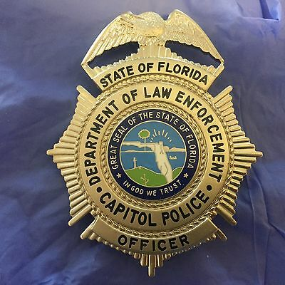 Florida Capitol Police OFFICER Movie Prop