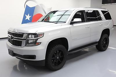 2016 Chevrolet Tahoe LT Sport Utility 4-Door 2016 CHEVY TAHOE LT 4X4 LIFTED HTD LEATHER REAR CAM 34K #249315 Texas Direct