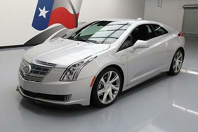 2014 Cadillac ELR Base Coupe 2-Door 2014 CADILLAC ELR HYBRID HTD LEATHER NAV REAR CAM 30K #600311 Texas Direct Auto