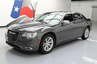 2016 Chrysler 300 Series  2016 CHRYSLER 300 C CLIMATE LEATHER PANO REAR CAM 32K #189967 Texas Direct Auto